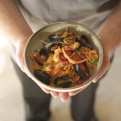 SW16 Seafood Spaghetti